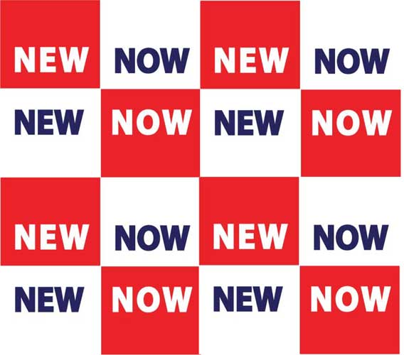 now new checkered