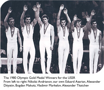 USSR 1980 gold medal winners